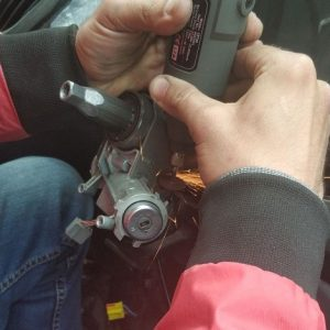 Car ignition switch repair services on the spot