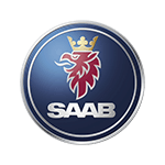 Replacement car key for Saab models